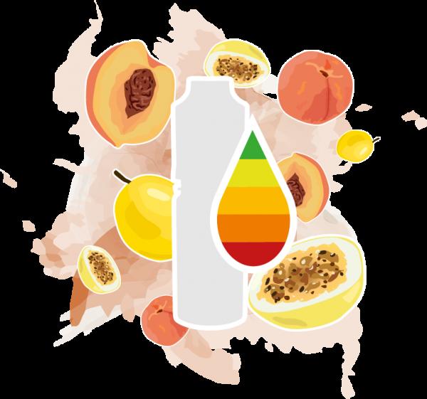 MC Liquid Pfirsich Maracuja (MHD)