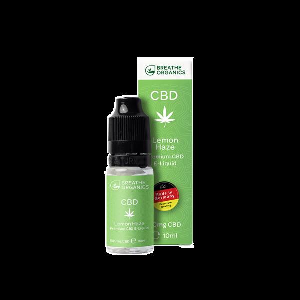 Breathe Organics - CBD Liquid Lemon Haze