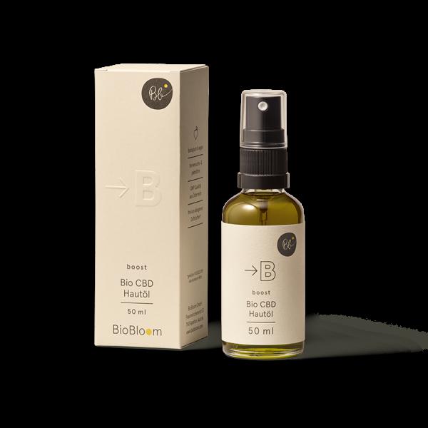 BioBloom Bio CBD Hautöl boost 50 ml