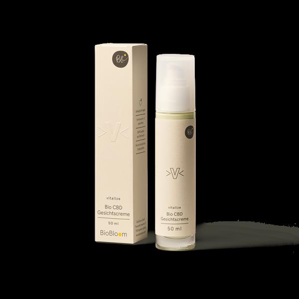 BioBloom Bio CBD Gesichtscreme vitalize 50 ml