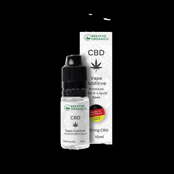 Breathe Organics - CBD Pure Base 1000 mg