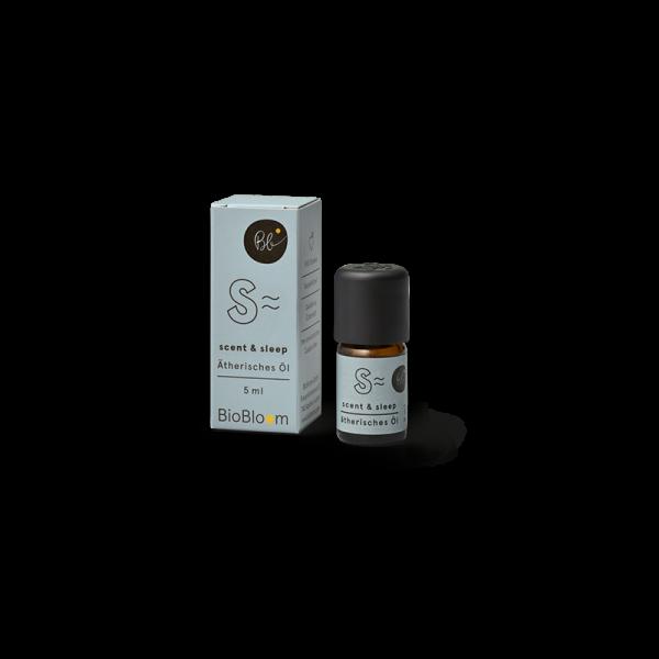 BioBloom Bio Aromatherapie scent & sleep mit Hanfterpenen 5 ml
