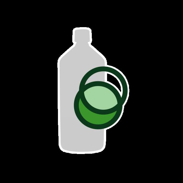 1 Liter MC Base 50%PG/50%VG (Ph.Eur.)