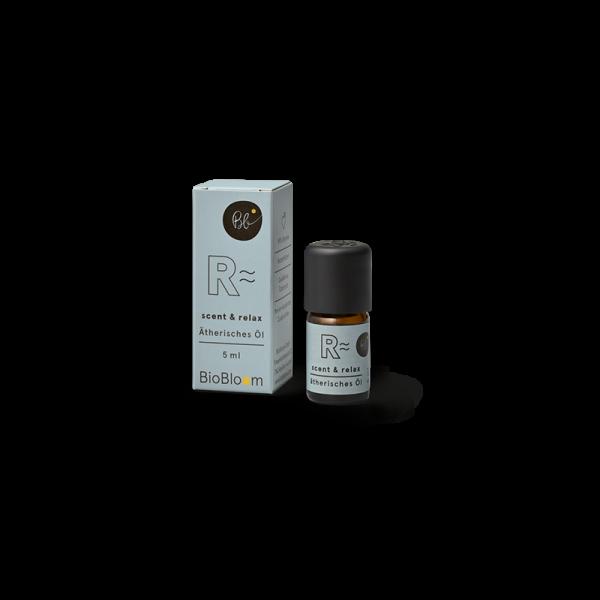BioBloom Bio Aromatherapie scent & relax mit Hanfterpenen 5 ml