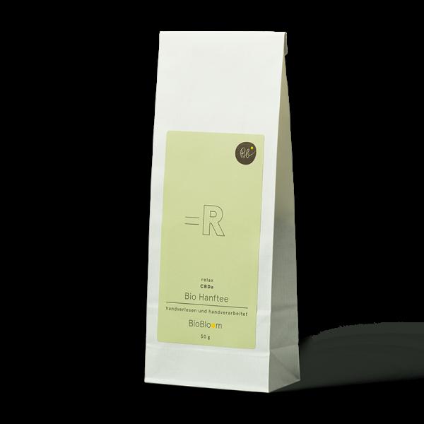BioBloom Bio Hanftee relax Teesackerl 50 g