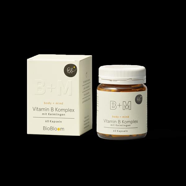 BioBloom Vitamin B Komplex body + mind mit Keimlingen