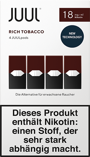 JUULpods Rich Tobacco 4-Pack