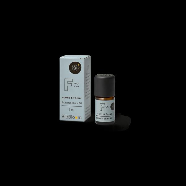 BioBloom Bio Aromatherapie scent & focus mit Hanfterpenen 5 ml