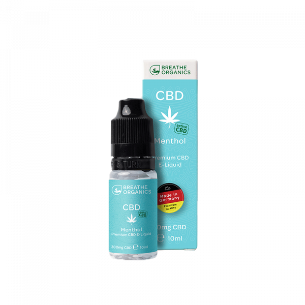 Breathe Organics - CBD Liquid Menthol